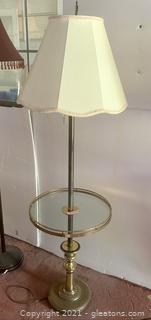 Vintage Table Floor Lamp