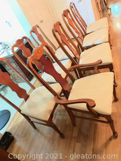 Upholstered Dining Chairs (Lot of 8)