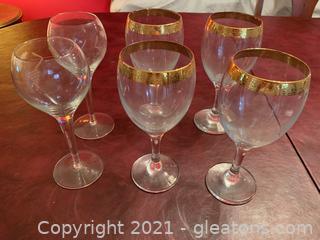 Wine Glasses (Lot of 6)