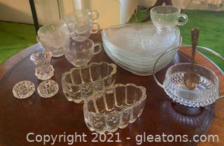 Misc Glass and Crystal (18pc)