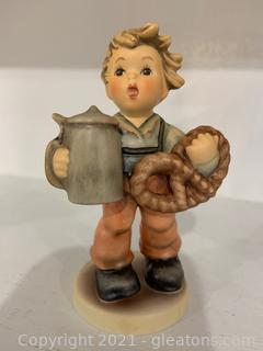 Hummel Figurine –Pretzel Boy W/Box