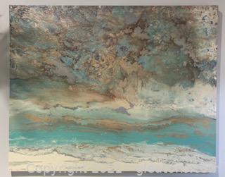 Pier 1 Coastal Canvas Art