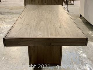 Classy Modern Coaster 6 Place Dining Table