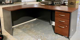 Bush Industries L Shaped Office Desk