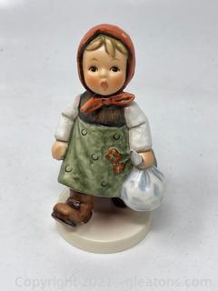 "Hummel Figurine ""Grandma's Girl"" with Box"
