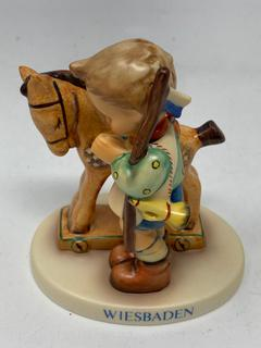 "Hummel Figurine ""Prayer Before Battle"" W/Box and Certificate"