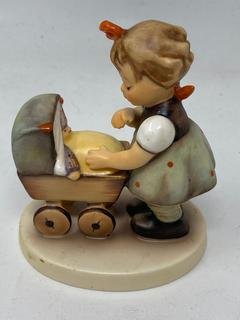 "Hummel Figurine :""Morning Stroll"" with Box"