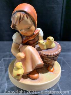 "Hummel Figurine ""Chick Girl"" #57"
