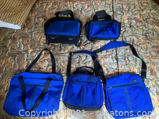 5 Pcs Victorinox By Swiss Luggage