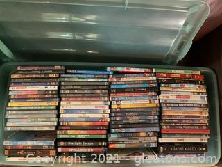 Enormous Collection of Children's DVD