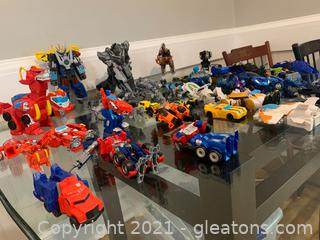 Lifelong Collection of Transformer Figurines