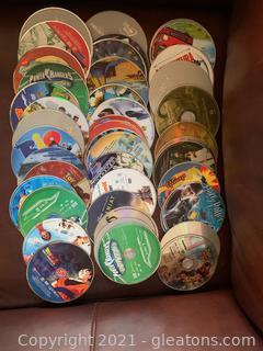 Children's DVD Stack