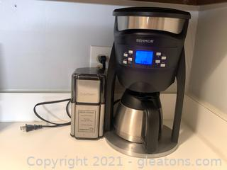 Behmor Commercial Coffee Maker with Coffee Grinder