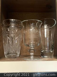Glass Golf Trophies