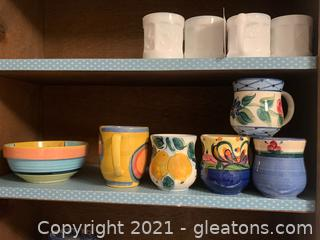 Gail Pittman Pottery Collection
