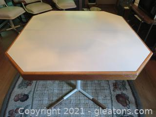 Fabulous Mid-Century Dining Table (With Leaf)