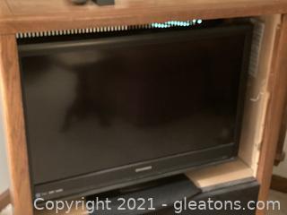 "Sylvania Flat Screen TV-36"""