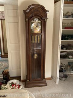 Stately Ridgeway Grandfather Clock