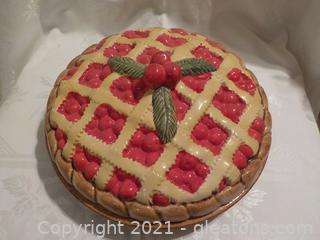 """""""Delicious Cherry Pie Holder by Over and Beck"""