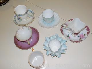 Demi Tasse Cup and Saucer Delight (11 Pieces)