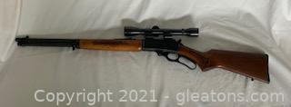 1980 Marlin Limited Edition 3080 Trail Rider with Weaver Marksman 4X Rifle Scope