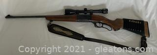 Savage 99C Series A .308 Win Lever Action Rifle With Scope