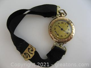 Vintage Elgin Gold Wrist Watch/Pocket Watch