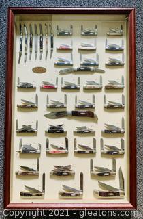 Case XX Pocket Knife Display Cabinet