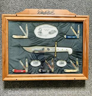 Case XX Dale Earnhardt Knife Display
