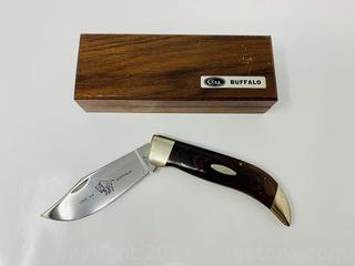 Case XX Wood Buffalo Knife