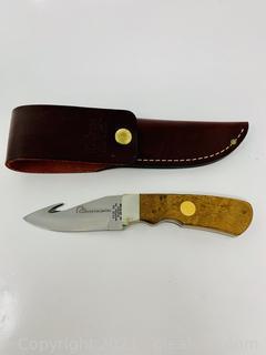 Case 1992 Ducks Unlimited Gut Hook Knife