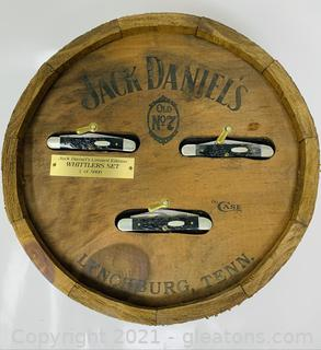 Case XX 1987 Jack Daniels Limited Edition Whittlers Set