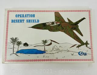 Case XX Operation Desert Shield Pocket Knife in Unopened Box