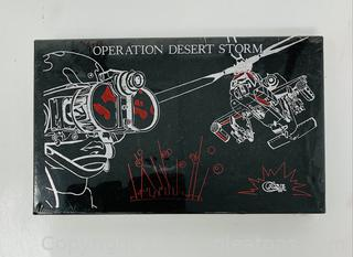 Case XX Operation Desert Storm Pocket Knife in Unopened Box