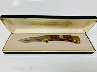 Buck 112 Ducks Unlimited Knife