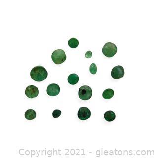 Parcel of Loose Genuine Emeralds
