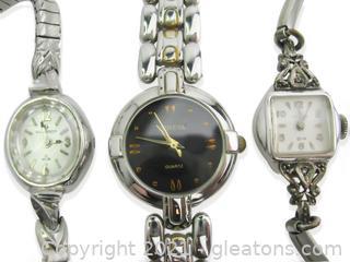 3 Ladies Watches (2 are Vintage!)