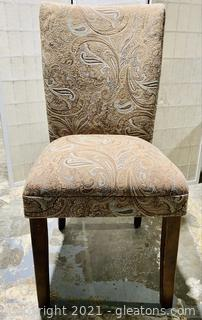 Stunning Tapestry High Back Dining Chair