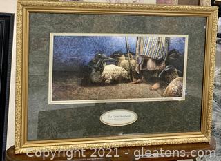 The Great Shephard Scripture Print