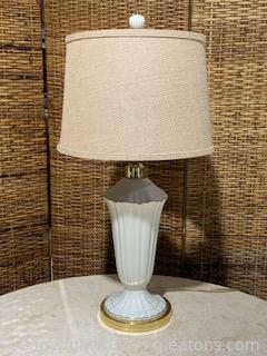 Lenox Symphony Vase Inspired Lamp