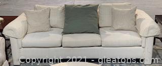 Off White Baker Furniture Sofa