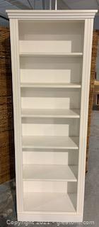 Lang Furiture Madison White Standard Bookcase