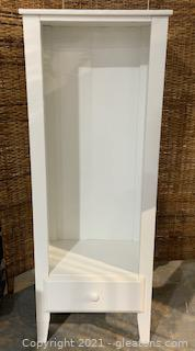 White Storage Cabinet Without Shelves