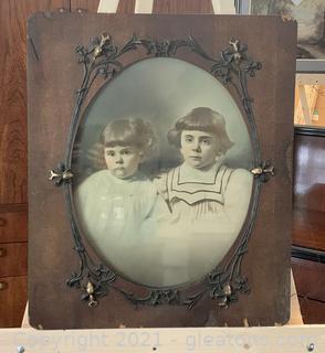 Matchless Mahogany Children Framed Print