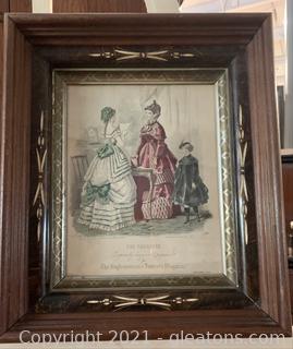1860's Fashion 'The English Woman's Domestic Magazine'