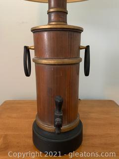 Timeless Spirit Barrel Table Lamp