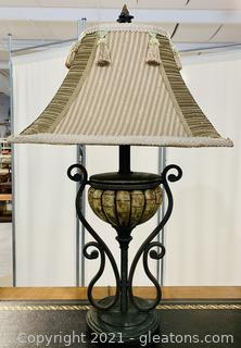 Elegant Inviting Tassled Table Lamp