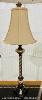 Stylish Old World Twisted Table Lamp
