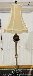 "Ravishing Industrial 40"" Table Lamp"