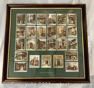Collectors 1930's Portals of The Past Player's Cigarette Cards